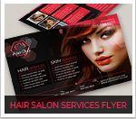 Hair Salon Fashion Style Web Newsletter