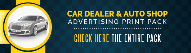 Car Dealer & Auto Services Table Tent